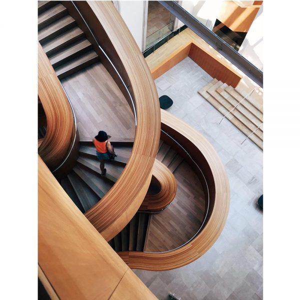 Wooden interior using Haarlem Oil